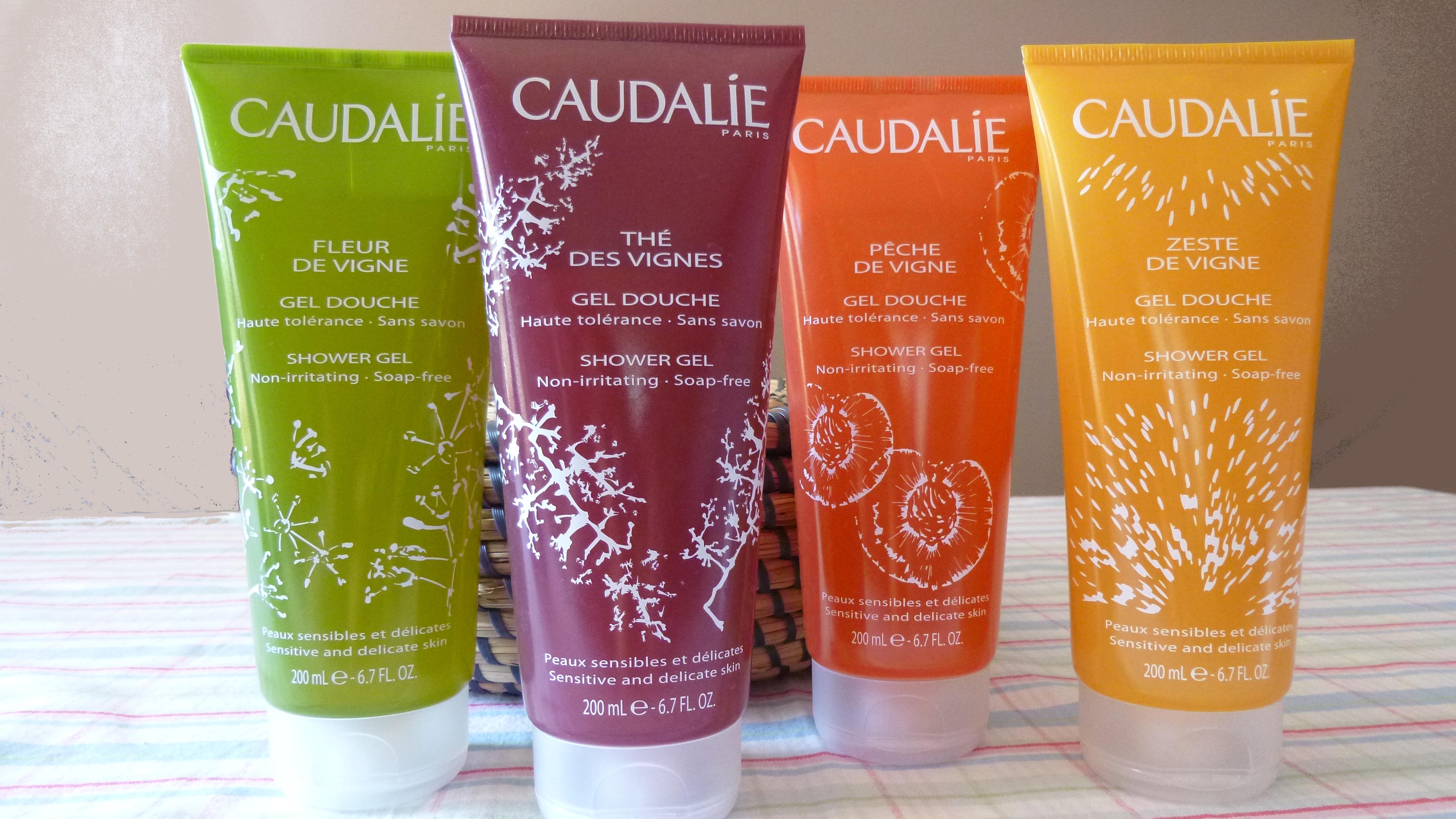 Revue caudalie gels douches th des vignes le blog de - Gel douche sans sodium laureth sulfate ...