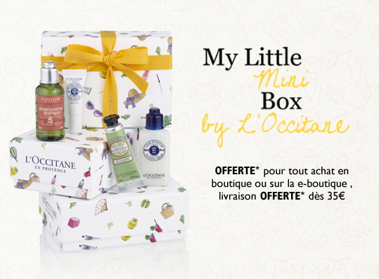 Seconde box L'occitane