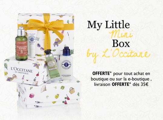 Seconde box L'occitane