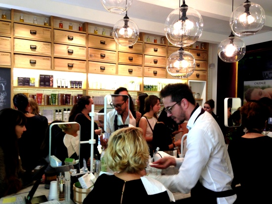 Soiree Caudalie - rue Francs-bourgeois (3)
