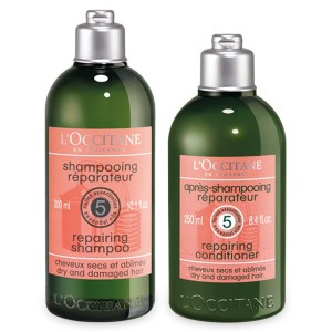 L'occitane shampoing conditioner 5HE