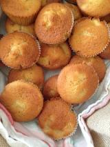 Muffins pommes, beurre salé etcannelle